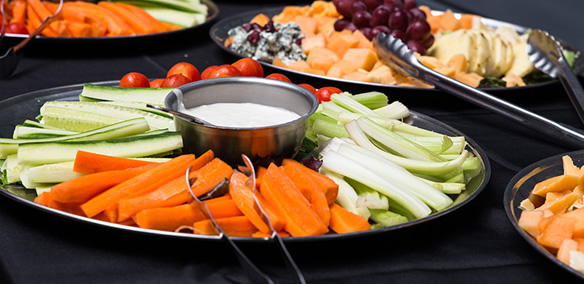 Fruits and vegetable finger foods for best catering livermore